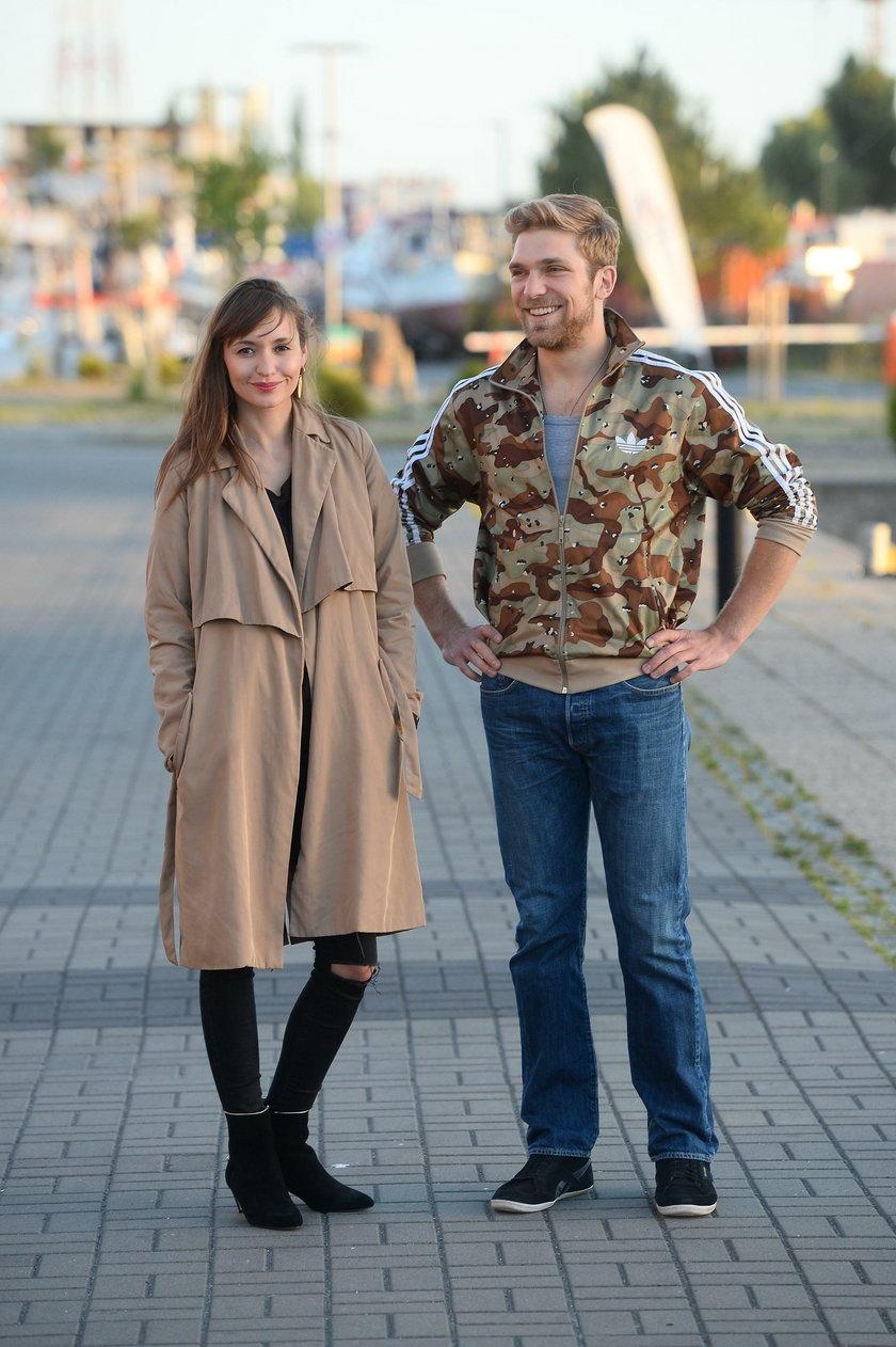 Joanna Osyda i Piotr Witkowski w Kołobrzegu