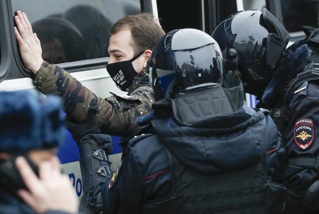Hapšenja u Moskvi