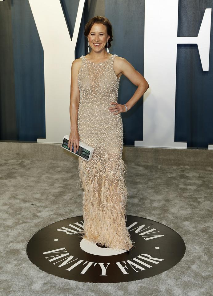 Oscary 2020: Anne Wojcicki na Vanity Fair Oscar Party