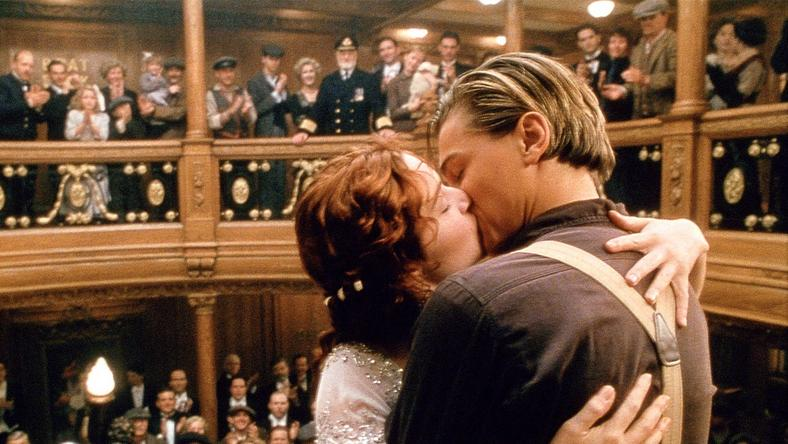 'Titanic' featured the love story of two characters, Jack and Rose. [Vanity Fair]