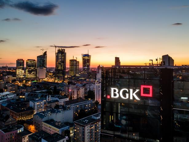 Siedziba BGK w budynku Varso 2 przy ul. Chmielnej 73 w Warszawie. Źródło: materiały prasowe BGK