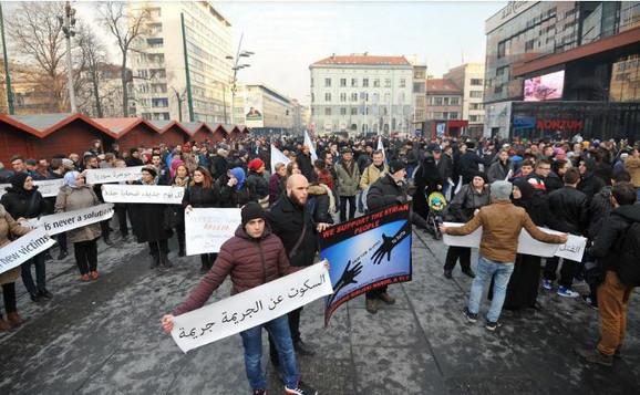 Mitnig podrške u Sarajevu