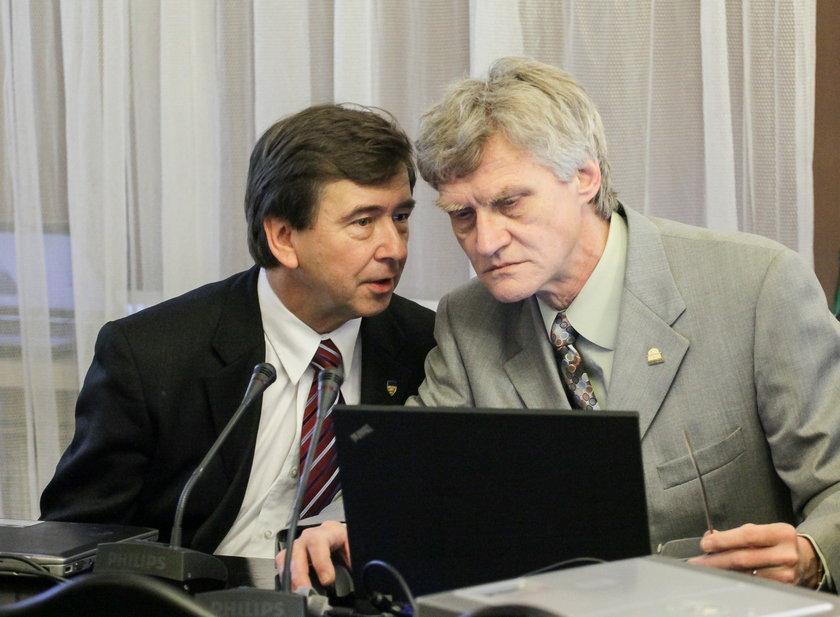 Wiesław Binienda i Kazimierz Nowaczyk