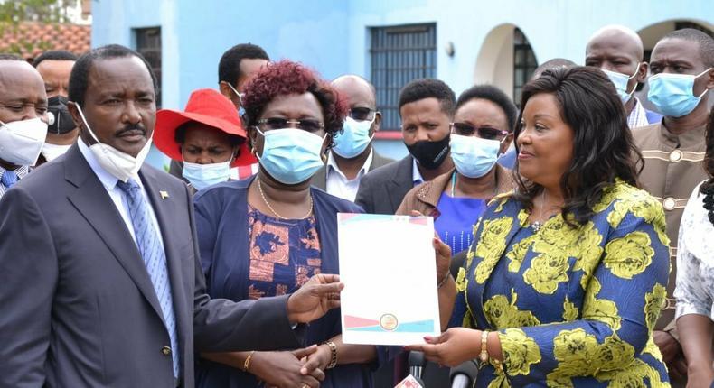 Wiper party picks former Senator Johnstone Muthama's ex-wife Agnes Kavindu to vie for the Machakos Senatorial seat