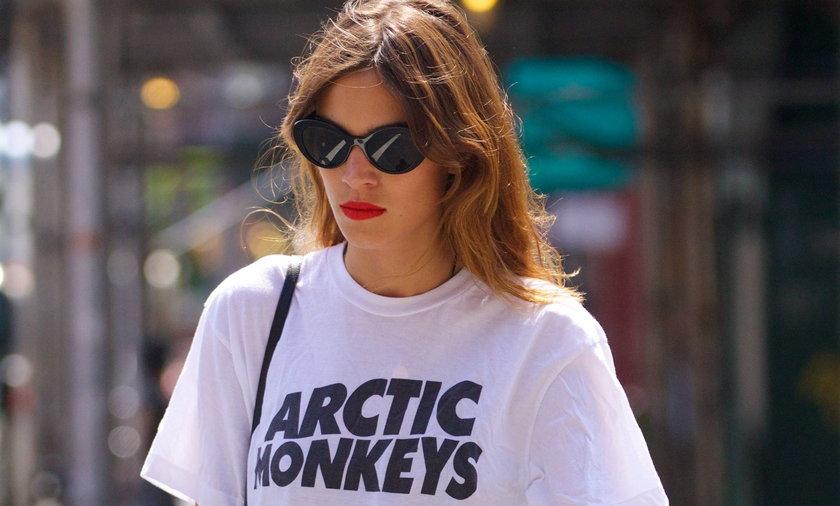 Alexa Chung fanką Arctic Monkeys