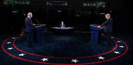 Ostra pyskówka podczas debaty. Joe Biden nazwał Donalda Trumpa klaunem