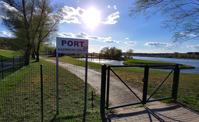 Port w Kazimierzu Dolnym