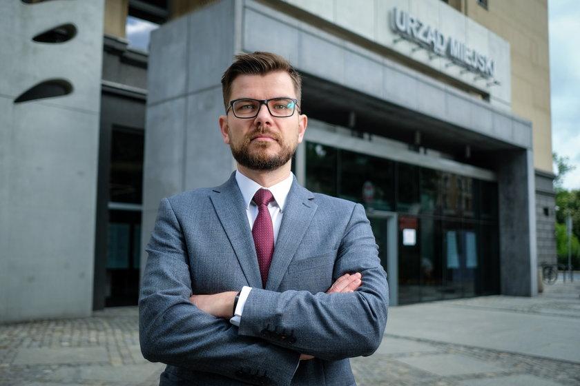 Łukasz Oryszczak, rzecznik UM w Gliwicach