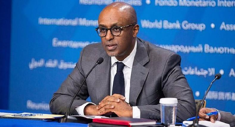 The Director of the African Department at the IMF, Mr Abebe Aemro Selassie