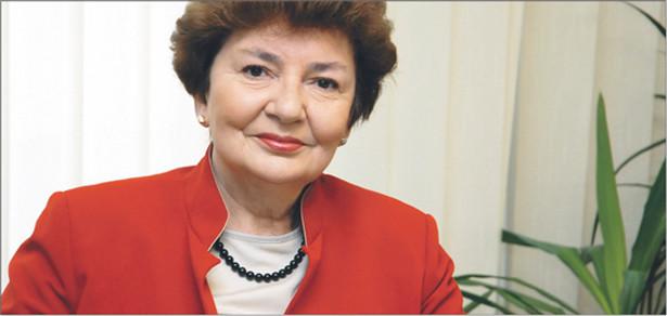 Maria Ilnicka-Mądry, laureatka Konkursu Sukces Roku 2008 w kategorii SP ZOZ Fot. Fotoeverest