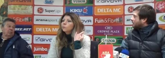 Nenad Lalatović nije birao reči posle konferencije za novinare u Kruševcu, gde je vređao Valentinu Vasić, portparolku Napretka