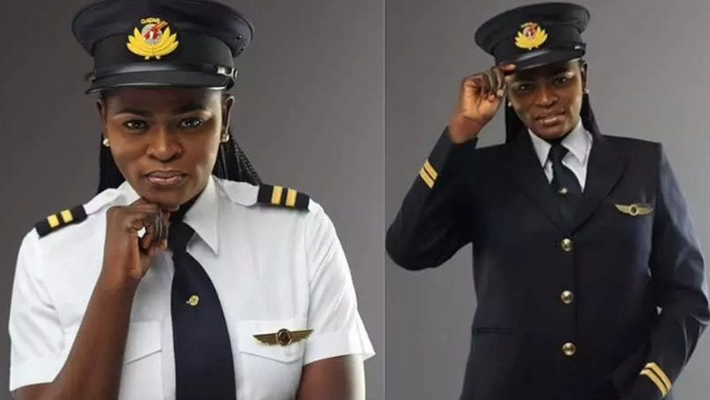 Adeola Ogunmola Sowemimo is  the first Nigerian female pilot at Qatar Airways and the first Nigerian female pilot to fly the Boeing 787 Dreamliner. (standardmedia)