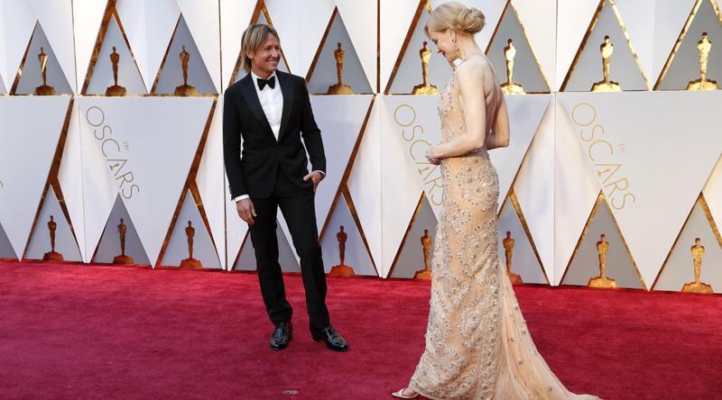 Nicole Kidman i Keith Urban na czerwonym dywanie