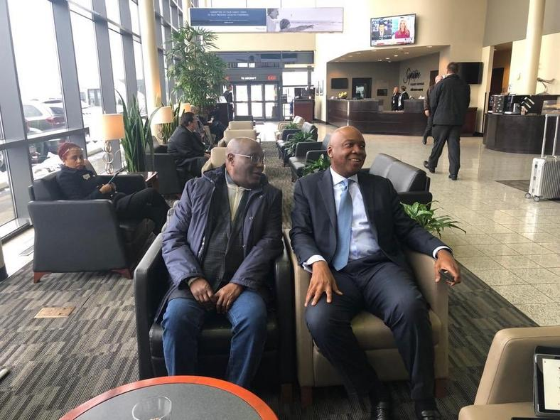 Image result for Atiku Went To US As Aide To Saraki