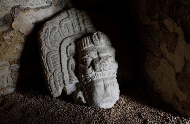 Arheološko nalazište u Jaščilanu u Meksiku, u džungli Lakandon u planinama Čijapasa