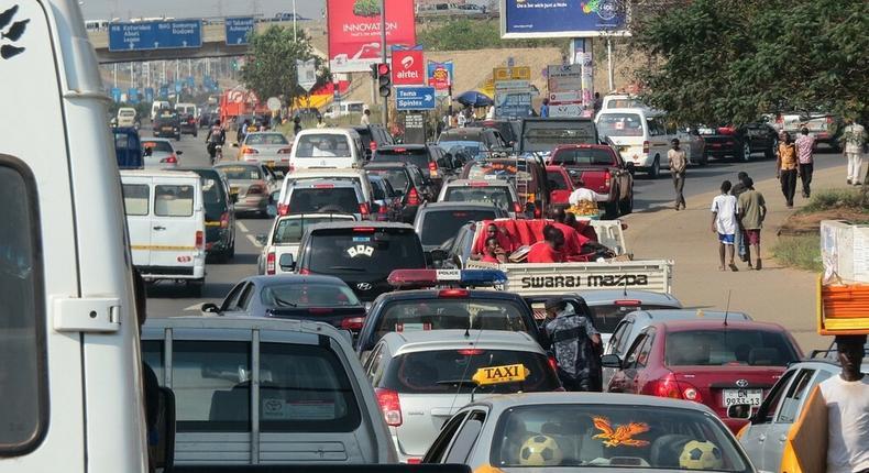 Traffic in Ghana