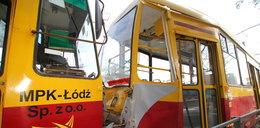 Zderzenie tramwajów na Limanowskiego