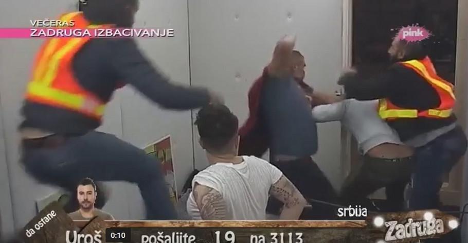 Zadruga tuča