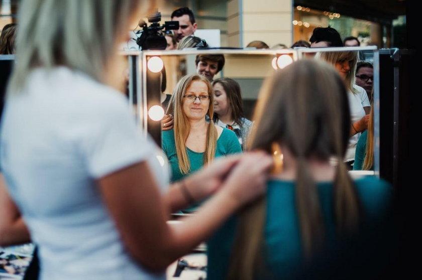 Katowice. Strzyzenie włosów na peruki dla ciężko chorych dzieci