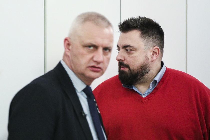 Marek Lisiński i Tomasz Sekielski