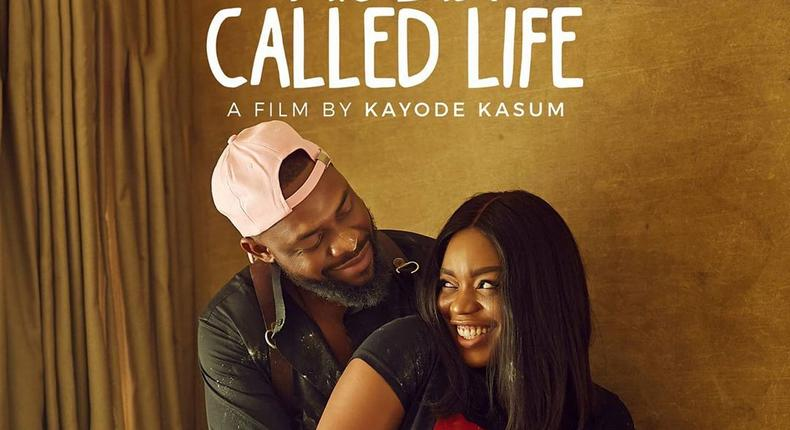 Bisola Aiyeola and Efa Iwara as lovebirds in 'This Lady Called Life' [Instagram/@kayodekasum]