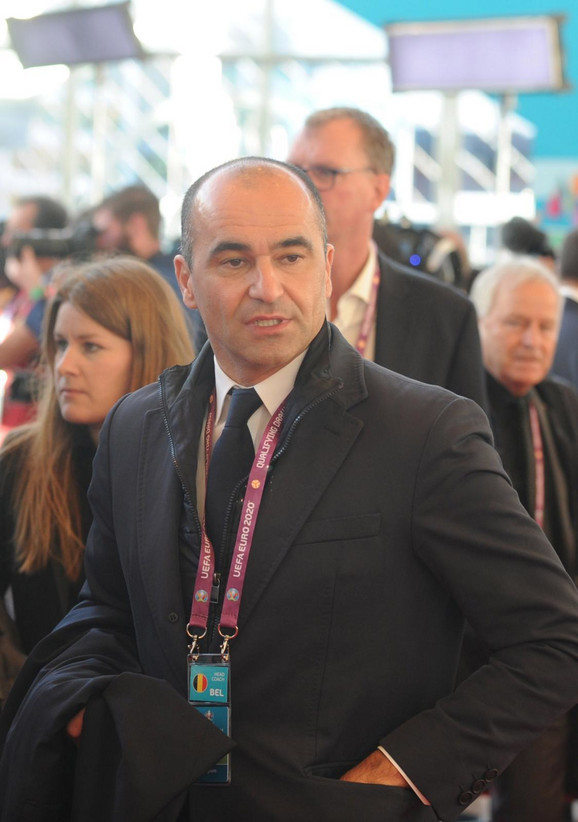 Roberto Martinez, selektor Belgije