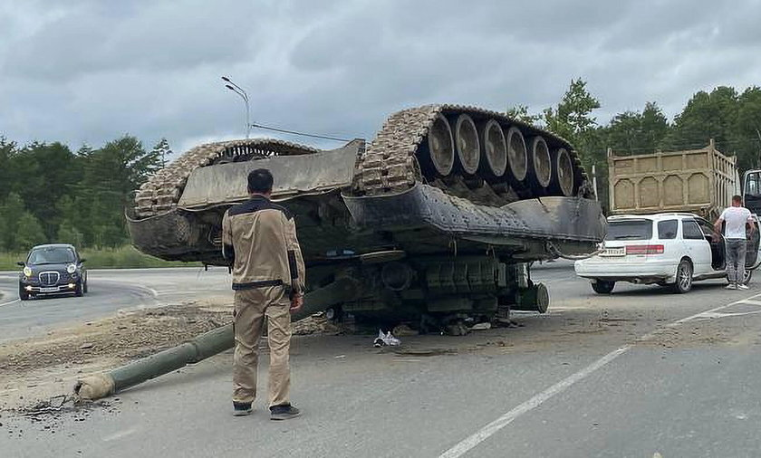 Wojsko zgubiło czołg.
