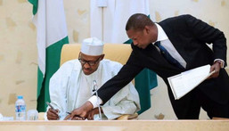 The Minister of Justice and Attorney-General of the Federation (AGF), Abubakar Malami, and President Muhammadu Buhari will have a huge say in what happens to suspended Abba Kyari [Presidency]