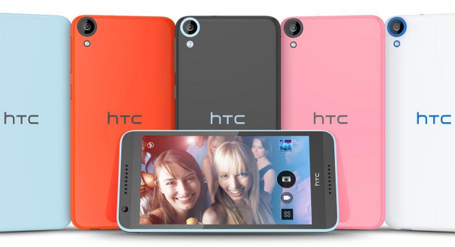 HTC Desire 820: 8 Kerne, 64 Bit und 8-Megapixel-Frontcam