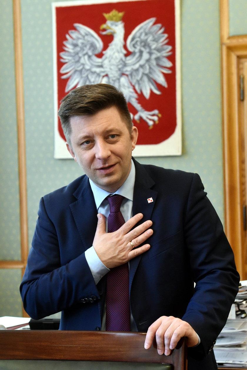 Michał Dworczyk szef KPRM