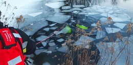 26-latek ruszył na lód za swoim psem. Utonął na oczach matki