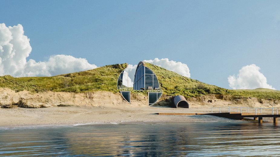 Dune House, czyli dom na wydmie