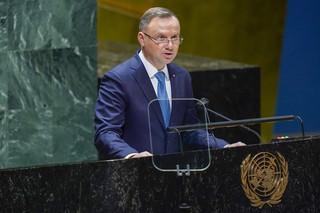 Duda oskarżył Białoruś o atak hybrydowy i podał w wątpliwość solidarność globalnej Północy