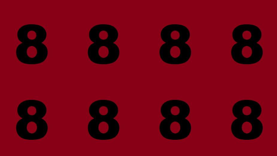 Osiem ósemek - zagadka