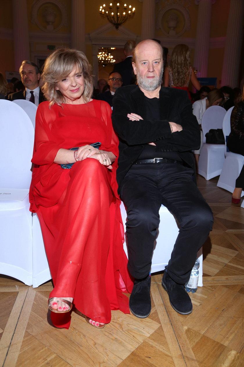 Katarzyna Grochola z mężem Stanisławem Bartosikiem