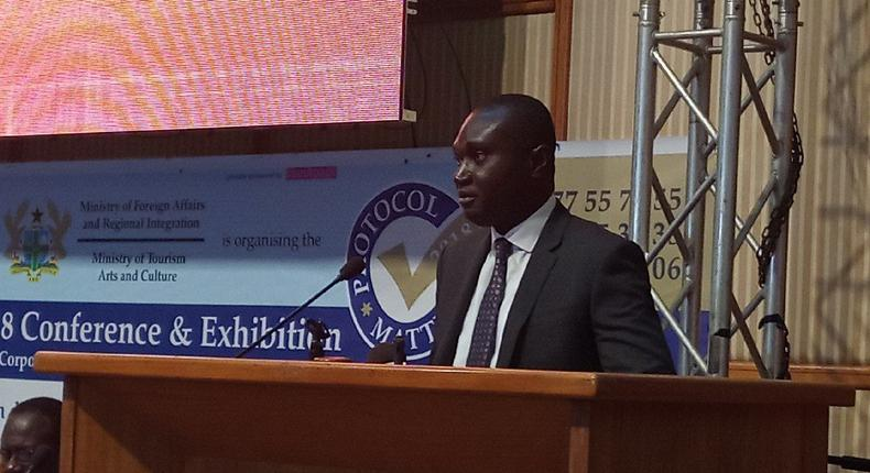 Deputy Minister for Foreign Affairs and Regional Integration, Charles Owiredu