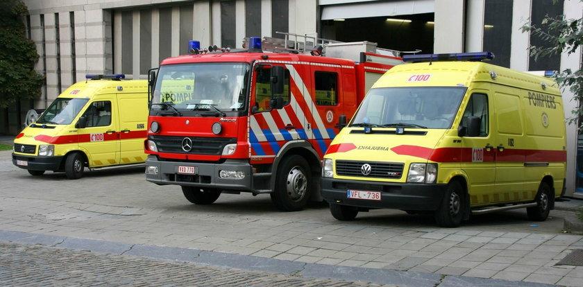 Koszmarny wypadek w Belgii. Polski kierowca ciężarówki zginął w płomieniach