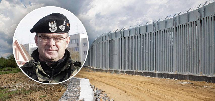 Generał Skrzypczak o murze na granicy z Białorusią: Chyba będzie ze złota!