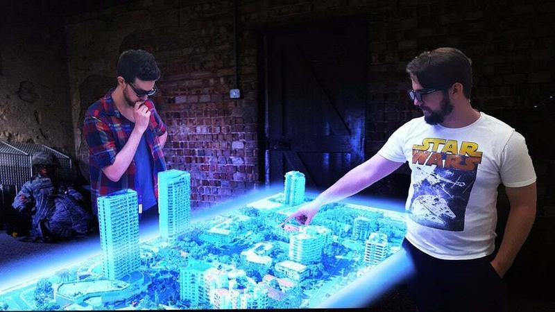 Euclideon: pierwszy na świecie holograficzny stół multimedialny