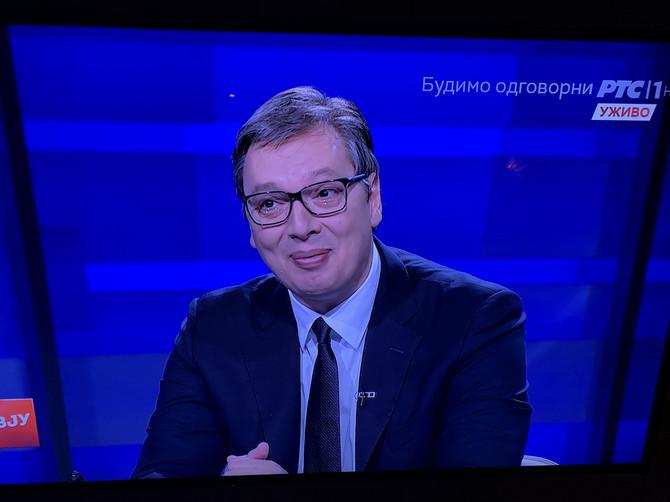 Reakcija Aleksandra Vučića