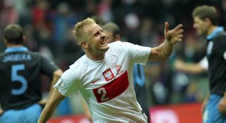 Eliminacje do piłkarskich MŚ 2014: Polska zremisowała z Anglią 1:1