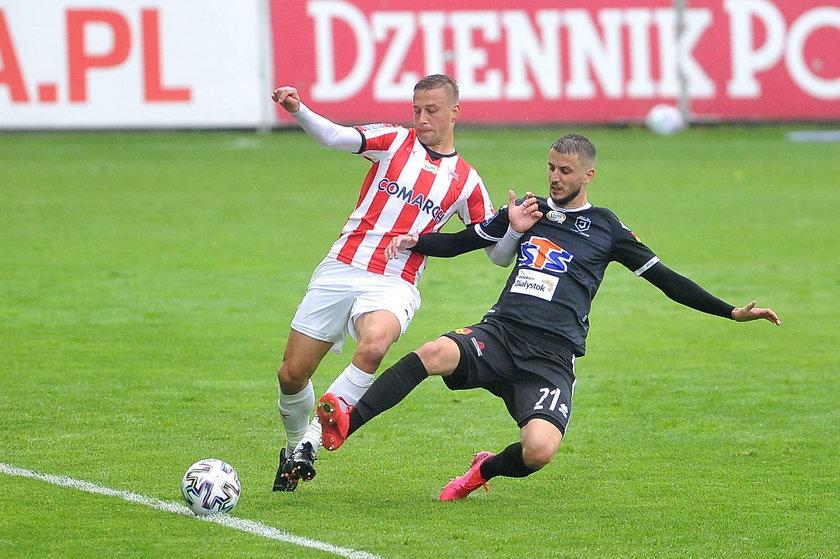 Ekstraklasa: Cracovia - Jagiellonia 0:1