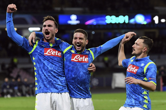 Fudbaleri Napolija mogu da slave kako su prošli na žrebu