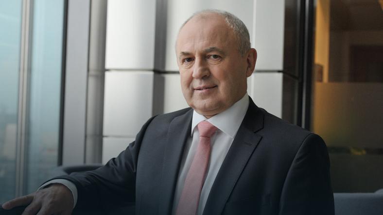Prezes Druteksu Leszek Gierszewski