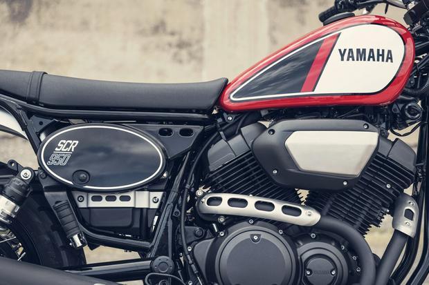 Yamaha SCR 950 z bliska