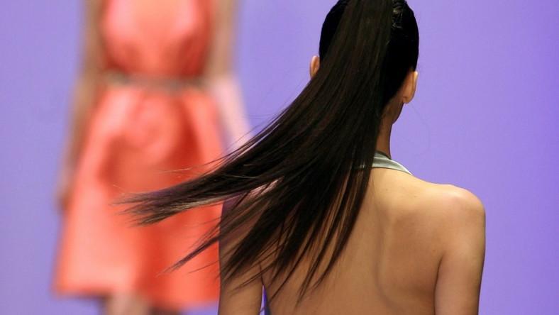 Pokaz na tygodniu mody w Meksyku