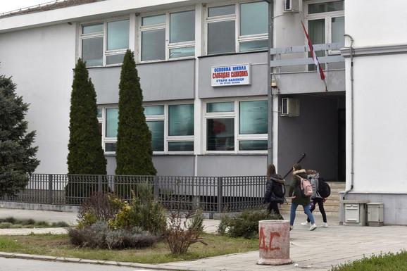 Osnovna škola u kojoj je radila Dragica Kristić