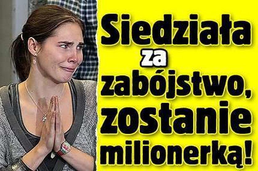 Siedziała za zabójstwo, zostanie milionerką!