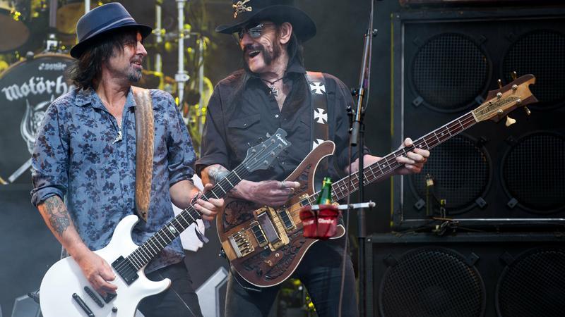 Phil Campbell i Lemmy