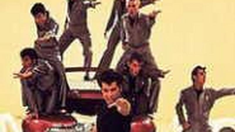 "John Travolta w ""Grease"""
